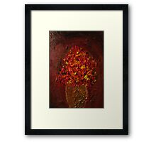 Inconsequential Flowers Framed Print