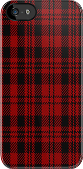 00275 The Border Reiver Tartan Fabric Print Iphone Case by Detnecs2013