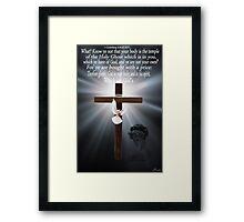 ☀ ツ KNOW YE ...BIBLICAL(AMAZING GRACE VIDEO WITH ME SINGING AMAZING GRACE LYRICS ADDED BELOW VIDEO ☀ ツ Framed Print