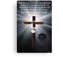 ☀ ツ KNOW YE ...BIBLICAL(AMAZING GRACE VIDEO WITH ME SINGING AMAZING GRACE LYRICS ADDED BELOW VIDEO ☀ ツ Canvas Print
