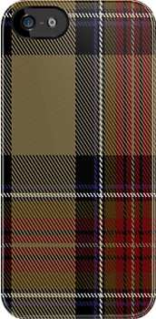 00268 US Customs Tartan Fabric Print Iphone Case by Detnecs2013