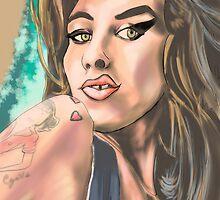 Amy Winehouse by antdog13
