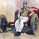 Alfa Romeo Monza Tazio Nuvolari 1932 by Yuriy Shevchuk