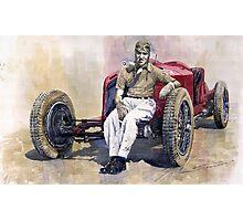 Alfa Romeo Monza Tazio Nuvolari 1932 Photographic Print