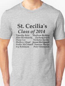 St. Cecila's Class of 2014 Unisex T-Shirt