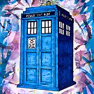 Tardis Splat - Doctor Who by LilithScream