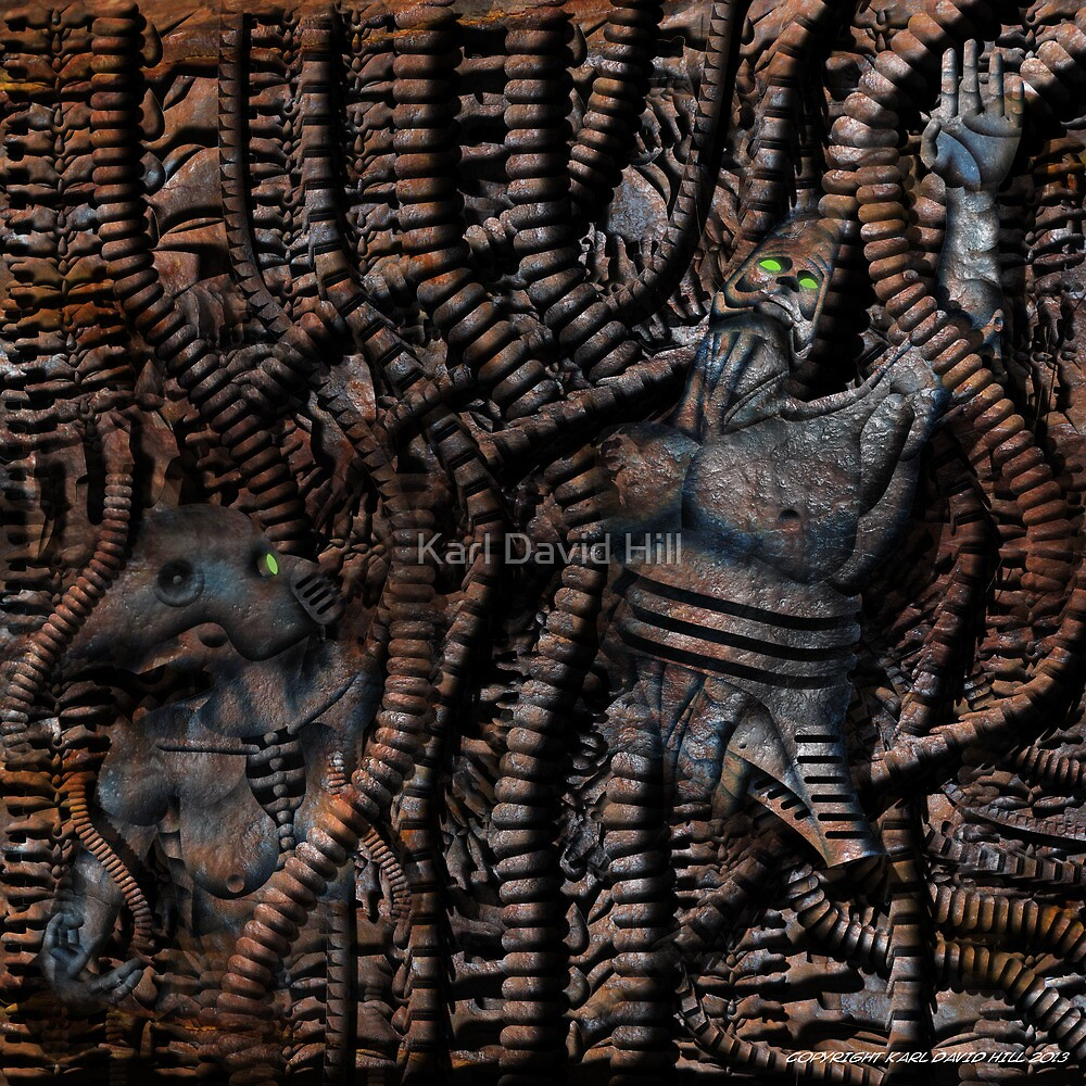 Devoured 001 by Karl David Hill