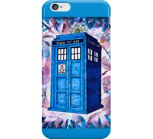 Tardis Splat - Doctor Who iPhone Case/Skin