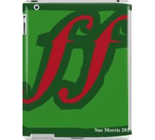 Fortissimo Dynamic Red iPad Case/Skin