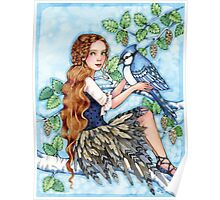 A Blue Jay Day Poster