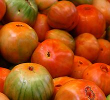 Valencia  Tomatoes by Brittany Brassell