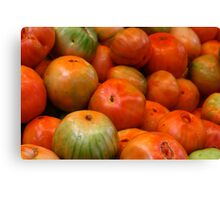 Valencia  Tomatoes Canvas Print