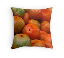 Valencia  Tomatoes Throw Pillow