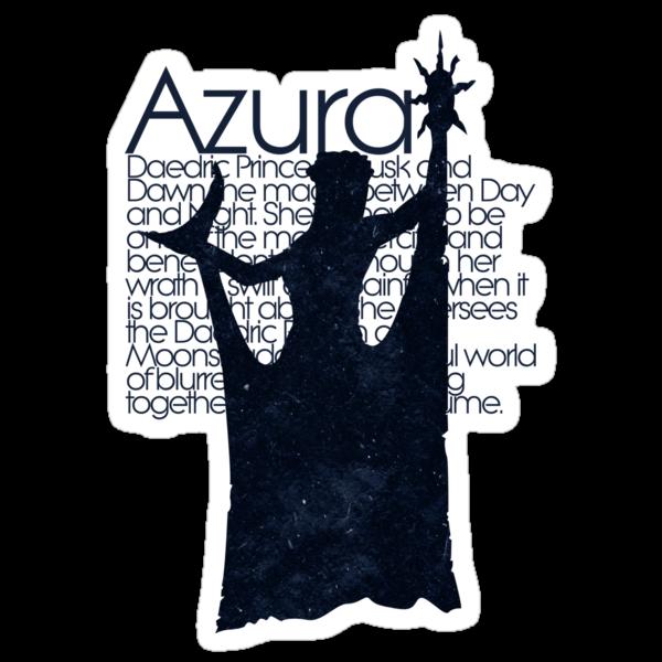 Azura - DAEDRIC PRINCE by freckilation