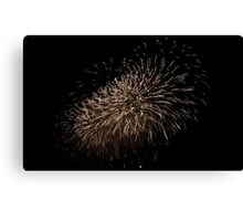 Chinese New Year Fireworks Canvas Print