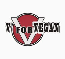 V For Vegan by MysteryArtist