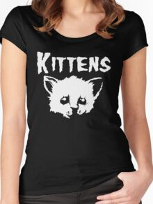 Goth Kittens Women's Fitted Scoop T-Shirt