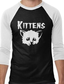 Goth Kittens Men's Baseball ¾ T-Shirt