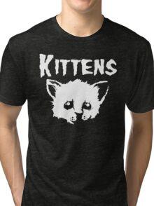 Goth Kittens Tri-blend T-Shirt