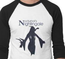 Nocturnal's Nightingale Men's Baseball ¾ T-Shirt