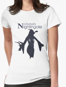 Nocturnal's Nightingale Womens Fitted T-Shirt