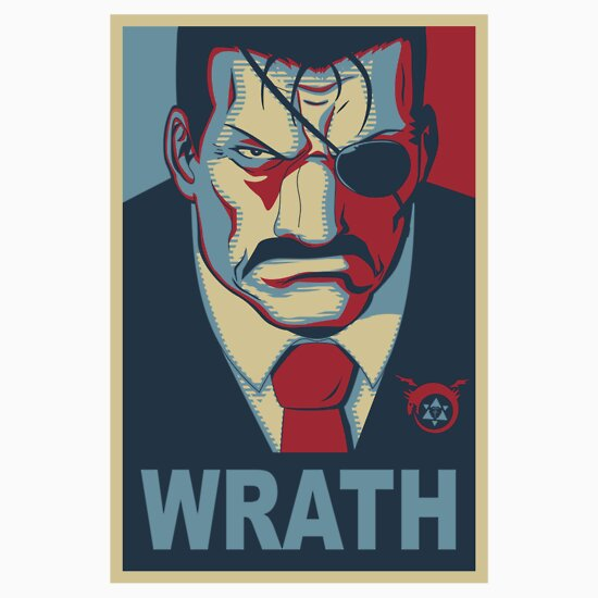 """""""wrath  Vote For King Bradley"""" Tshirts & Hoodies By Gael. Robot Logo. Workplace Stress Signs. Wire Signs Of Stroke. Almond Signs. Byu Stickers. Price Comparison Banners. Dahlia Flower Decals. Meaningful Signs"""
