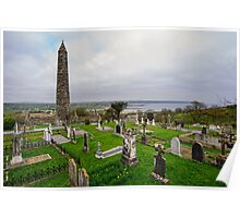 Ardmore Round Tower, County Waterford, Ireland Poster