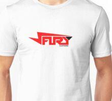FURY CLOTHING RED/BLACK Unisex T-Shirt
