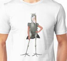 Posing Shoebill  Unisex T-Shirt