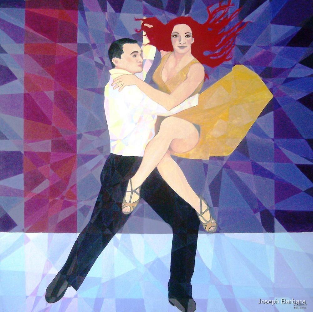 Prismatic Latin Dancers by Joseph Barbara