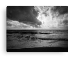 Moody Sea Canvas Print