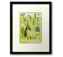 Spring time! Framed Print