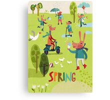 Spring time! Canvas Print