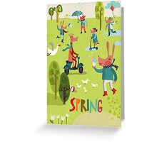 Spring time! Greeting Card