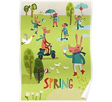 Spring time! Poster