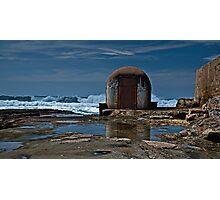 Newcastle Ocean Baths, The Pumphouse Photographic Print