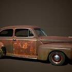 1946 Ford Sedan by TeeMack