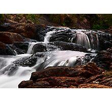 Bakers Fall VI. Horton Plains National Park. Sri Lanka Photographic Print