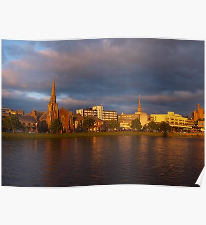Inverness Evening Poster