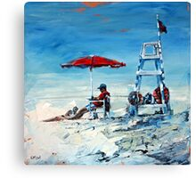 Lifeguard Off Duty Canvas Print
