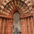Kirkwall Cathedral Door by kalaryder