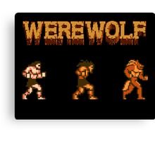 Werewolf Tribute Canvas Print
