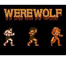 Werewolf Tribute Photographic Print