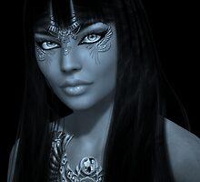 CLEOpatra bw by shadowlea