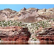 Pink Cliffs, Flaming Gorge Photographic Print