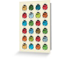 Lady Bugs Greeting Card