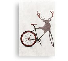 Stag Bike Metal Print