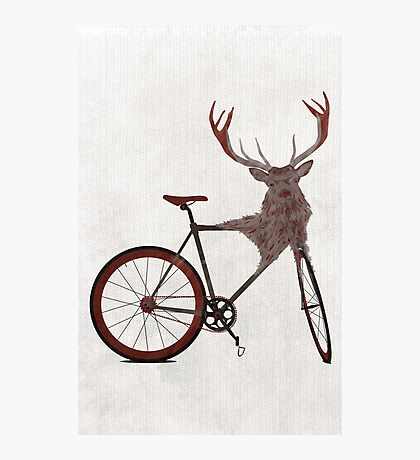 Stag Bike Photographic Print