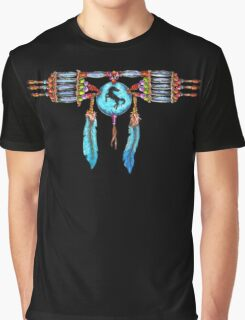 Native American Choker Necklace t-shirt Graphic T-Shirt