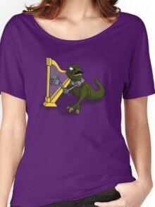 Bertrum, the Gentleman T-Rex Women's Relaxed Fit T-Shirt